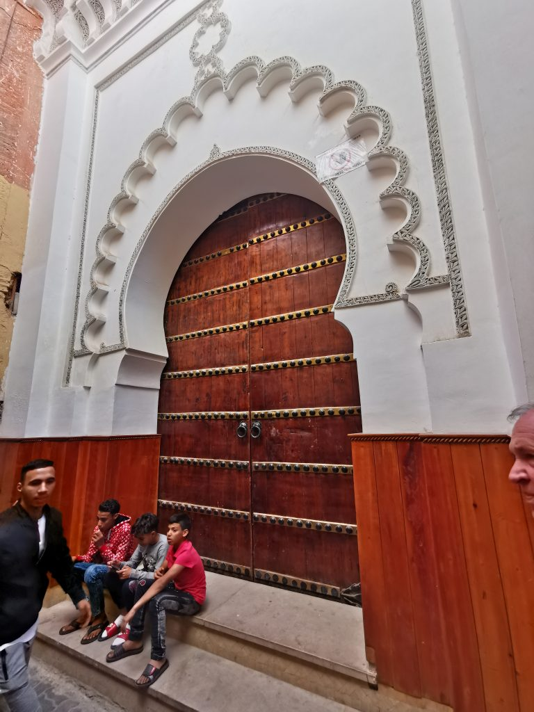Moschee Eingang