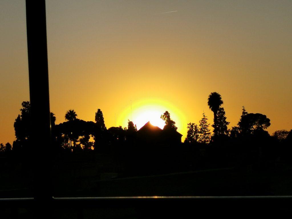 Sonnenuntergang in Marrakesch